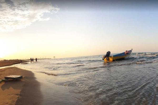 ساحل سیترا نوشهر در شمال ایران برای شنا
