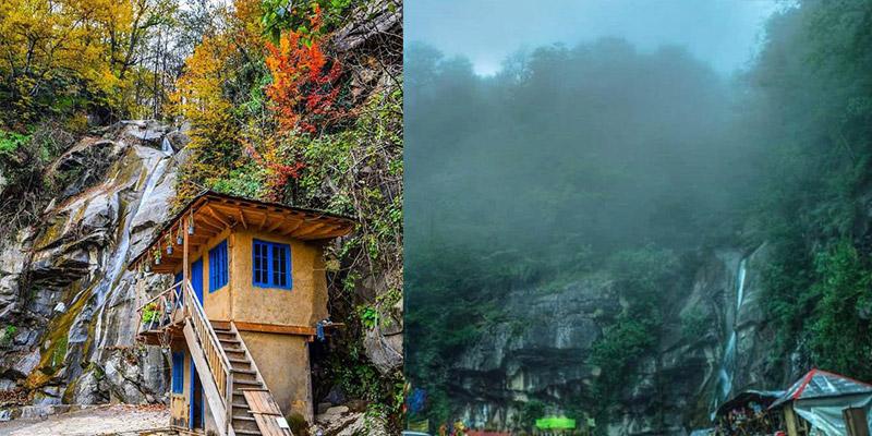 آبشار صفارود رامسر