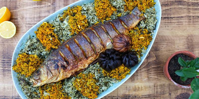 زیتون پرورده و ماهی، از لذیذترین غذاهای رامسر