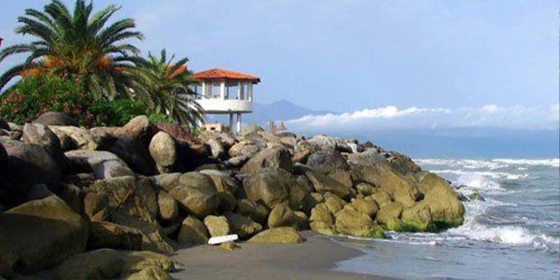 ساحل خلج از بهترین ساحل های شهر رامسر