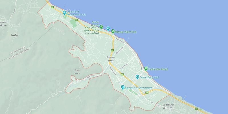 نقشه گردشگری رامسر-در-یک-نگاه