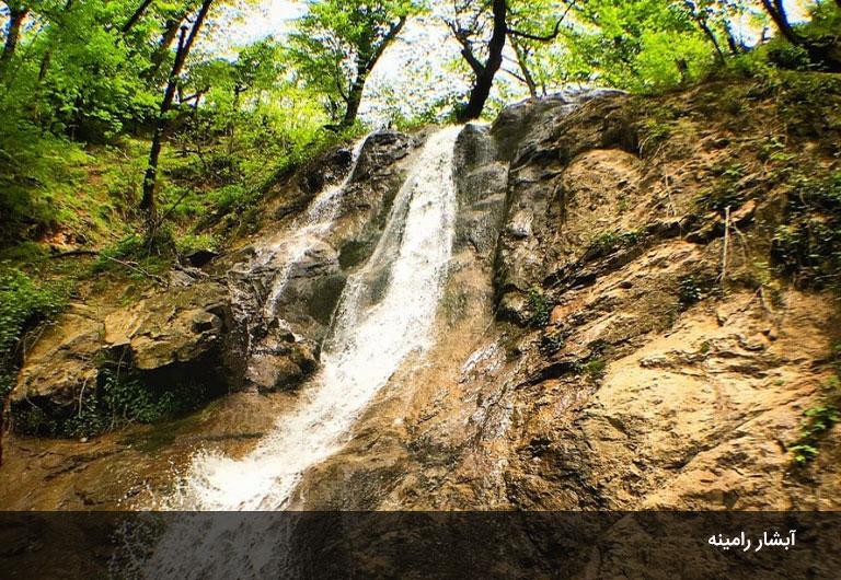 آبشارهای-ماسال،-در-طبیعتی-بکر