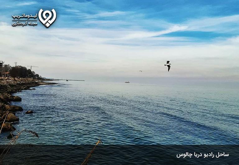 بهترین-ساحل-های-چالوس-کجاست؟-ساحل-رادیو-دریا،-با-صفا-و-دلنشین