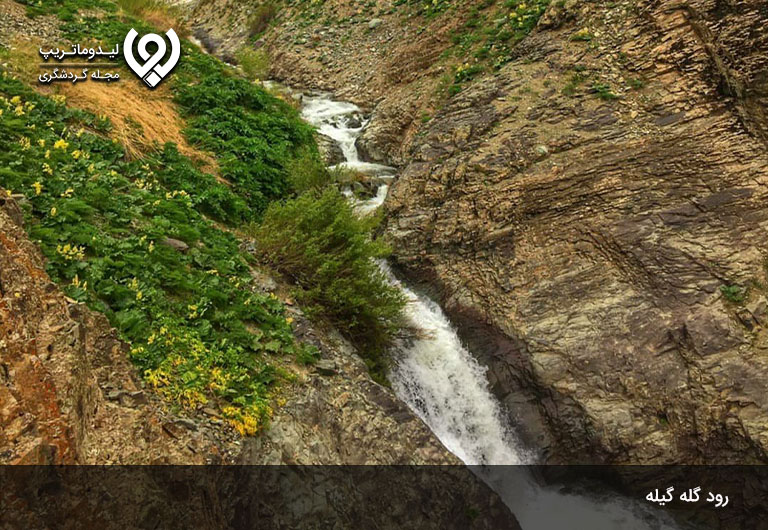 رود-گله-گیله،-یکی-از-رودخانه-های-جاده-چالوس-و-نبض-روستای-شهرستانک