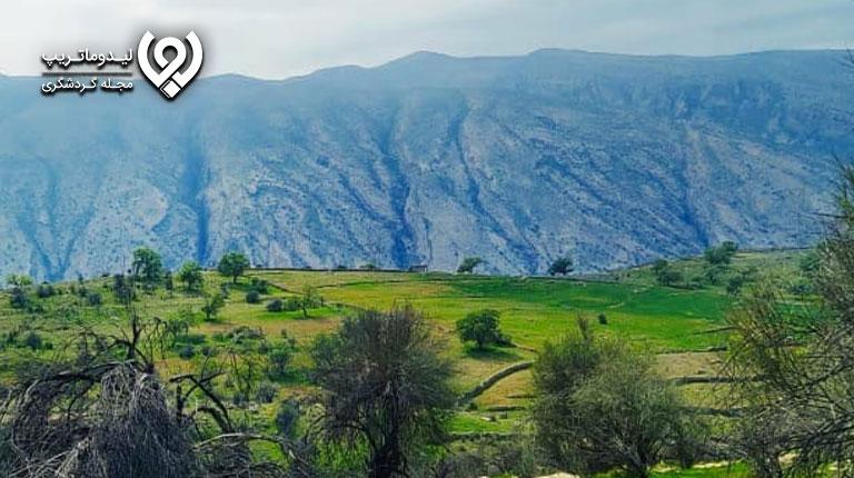 طبیعت-کوهمره-سرخی-شیراز