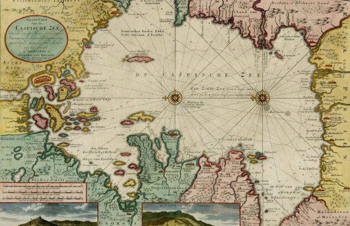 نقشه قدیمی بندر انزلی