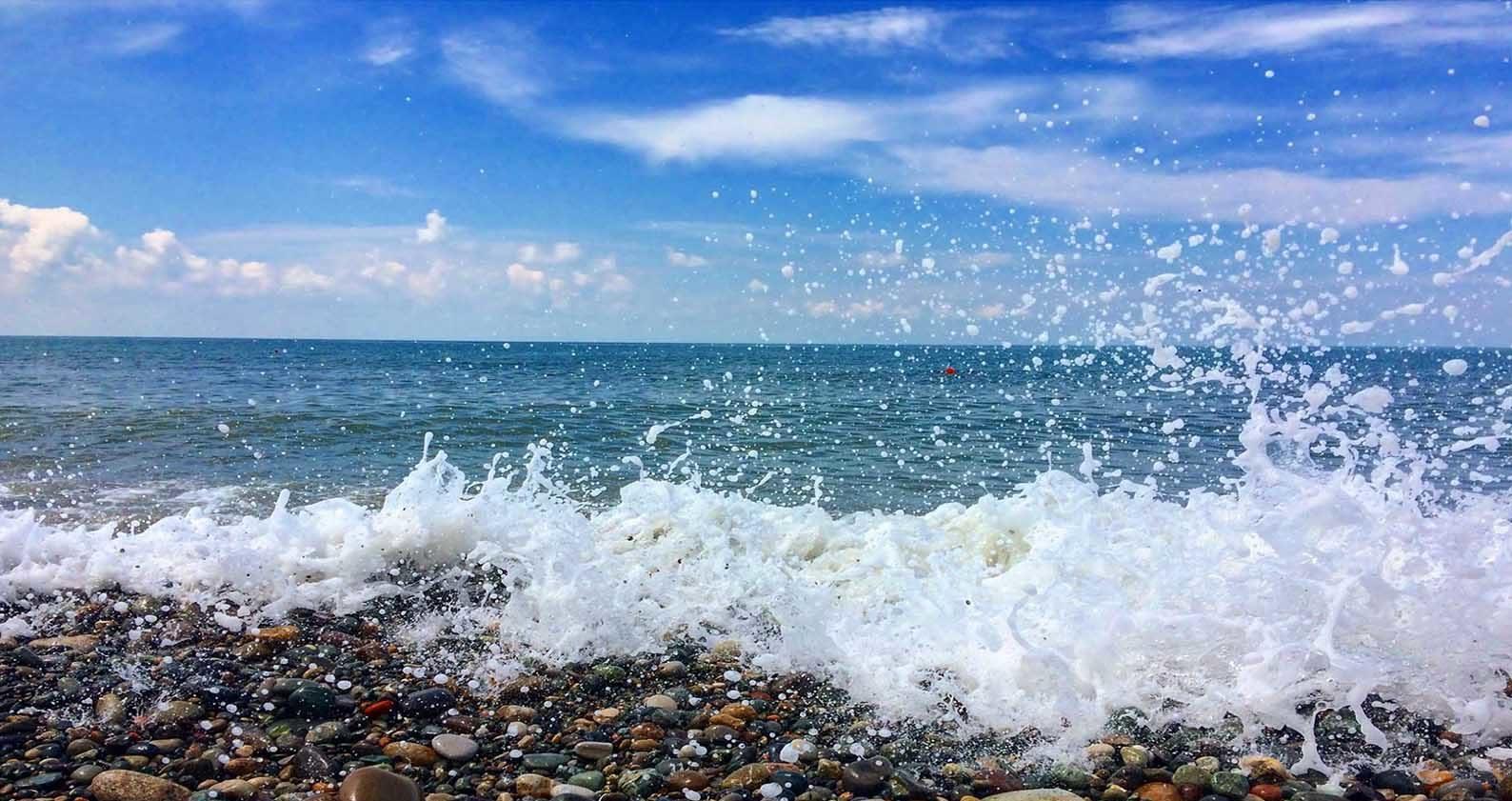 ساحل دریای بندر نوشهر راهنمای سفر به نوشهر