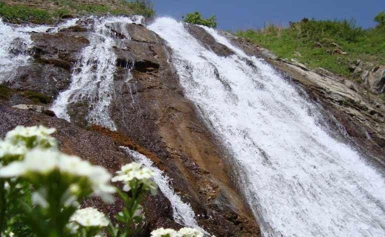 آبشار آقبلاغ اردبیل طبیعت گردی و معرفی مناطق بکر اردبیل