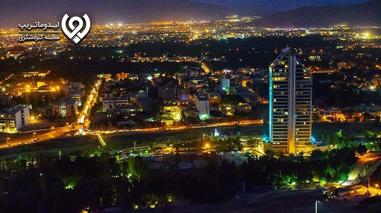 جاذبههای-شب-گردی-در-شیراز