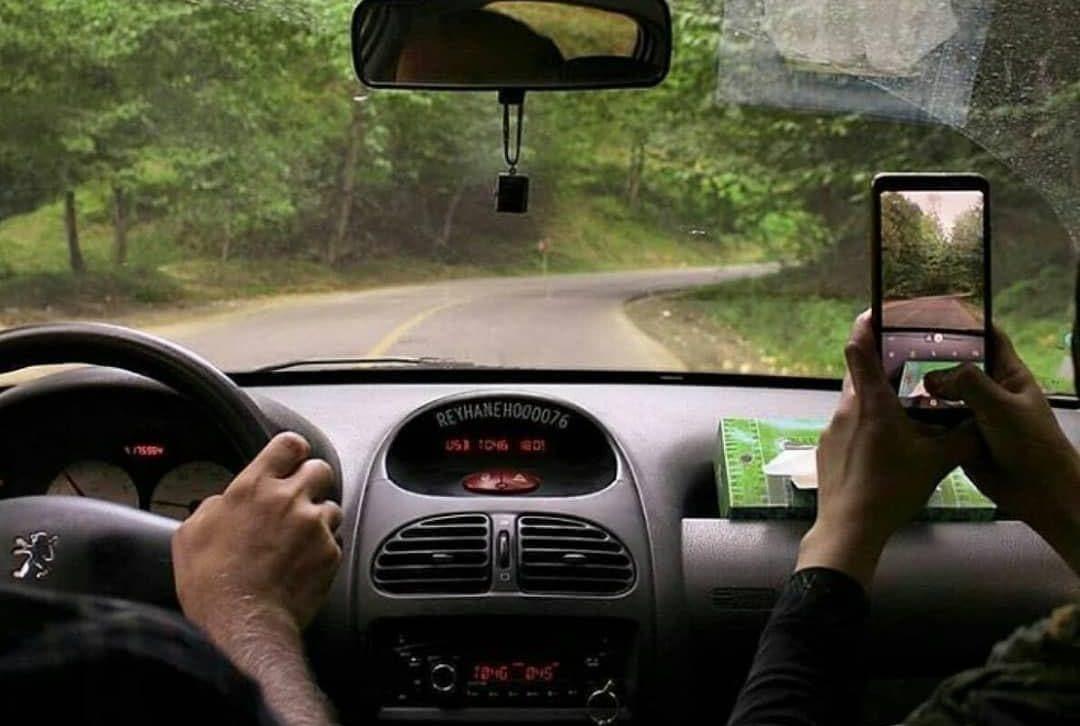 رانندگی در گردنه حیران گردنه حیران