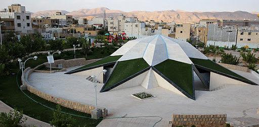 یادمان شهدای شهرک گلستان شیراز جاهای دیدنی شهرک گلستان شیراز