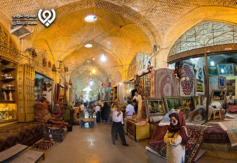 محل-بازارهای-هفتگی-شیراز-بازارهای معروف شیراز