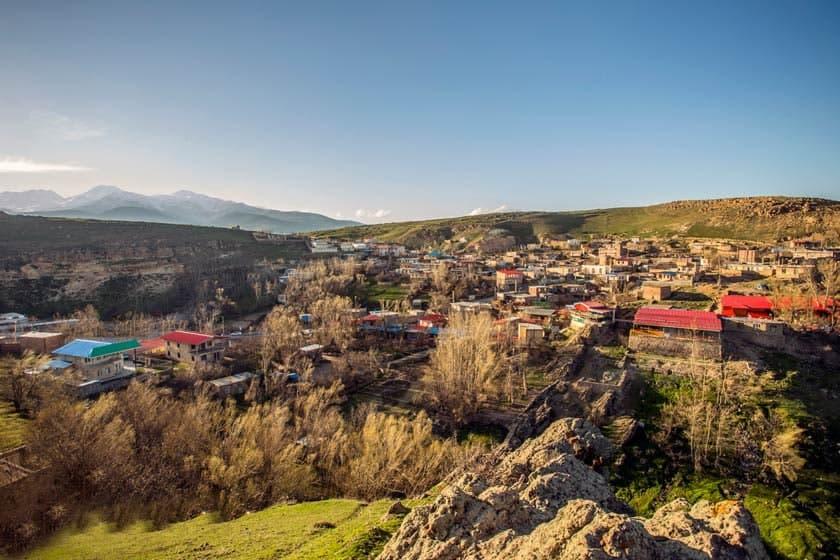 روستای ویلا دره زیباترین روستاهای گردشگری اردبیل