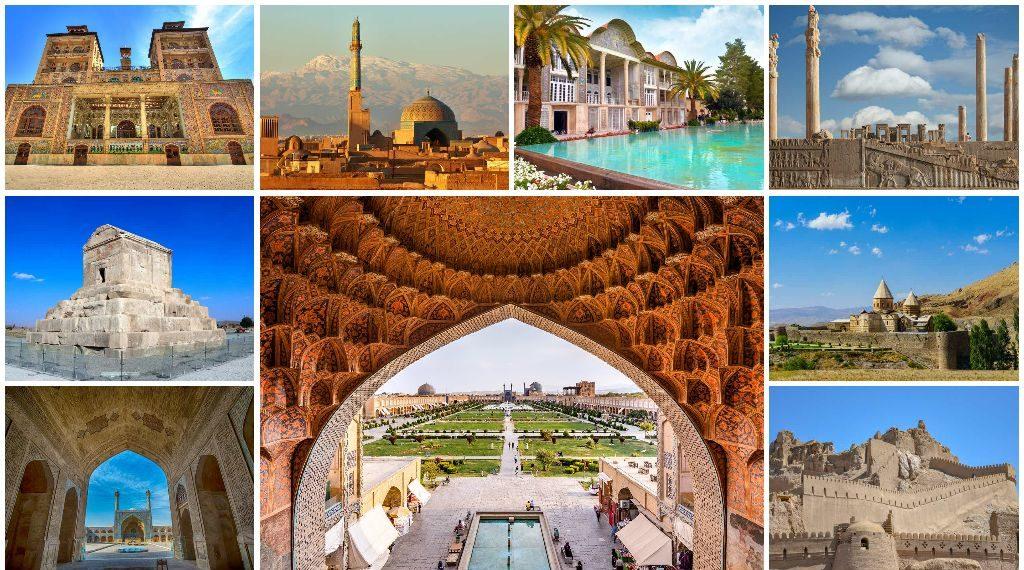 آثار ملی ثبت شده ایران در یونسکو