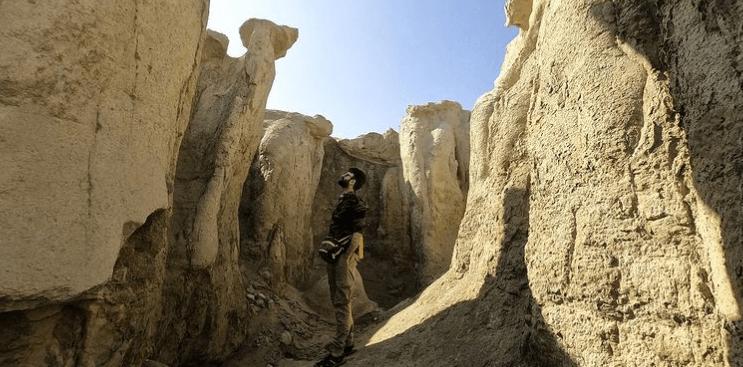 دره تندیس ها در قشم