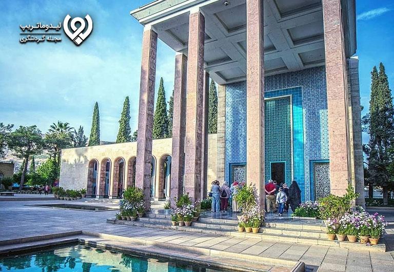 عکس-آرامگاه-سعدی-شیرازی