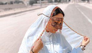 برقع سازی صنایع دستی قشم