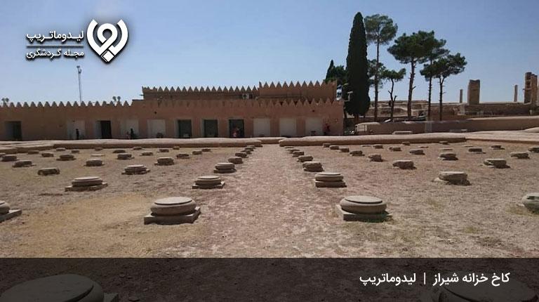 کاخ-خزانه-شاهی-کاخ های تاریخی شیراز