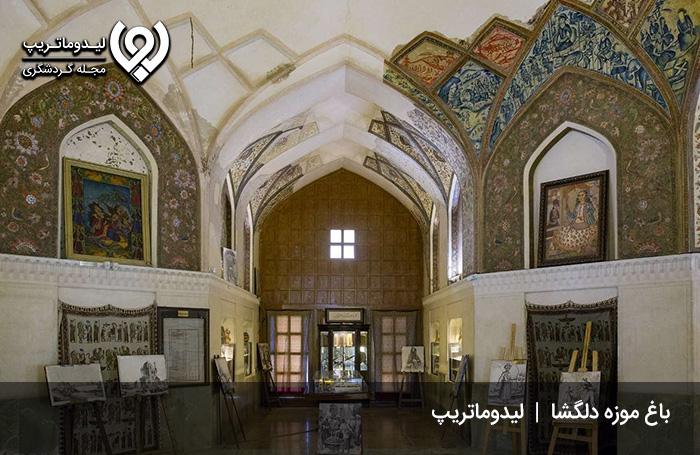 انشا-در-مورد-باغ-دلگشا-شیراز