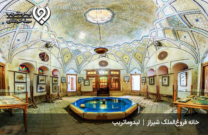خانه-فروغ-الملک-شیراز؛-مهد-هنر-مشکین-فام