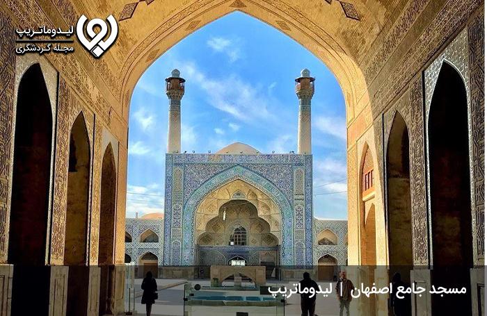 مسجد عتیق، نگین نصف جهان