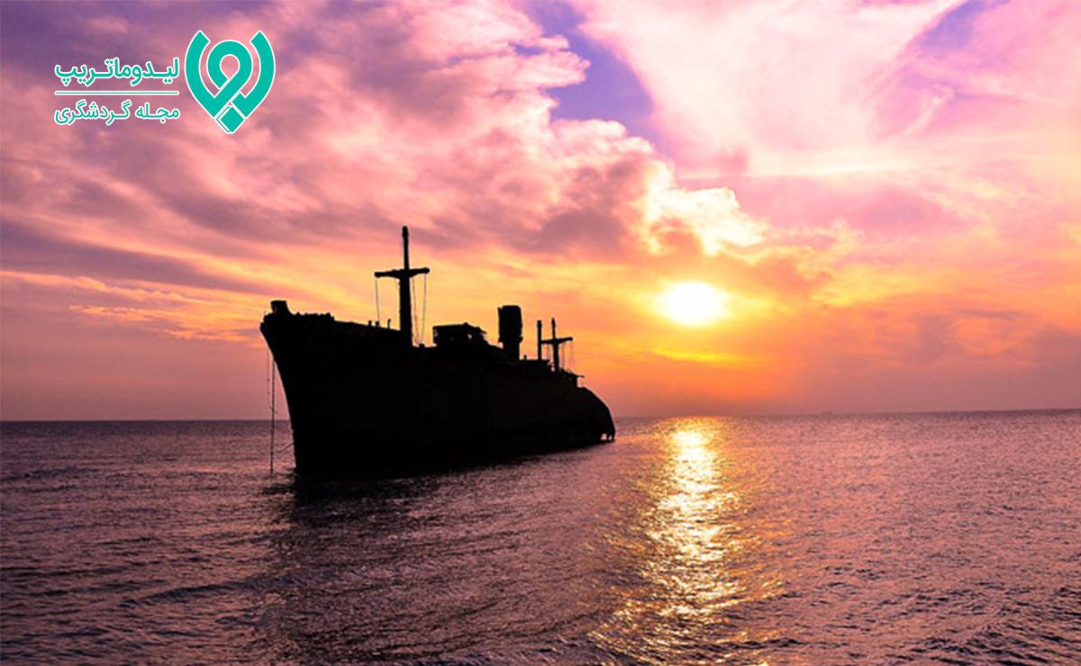 کشتی-یونانی-کیش-با-عکس-و-آدرس