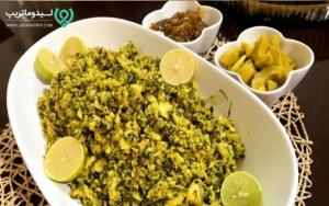 پودینی کوسه از غذاهای سنتی و محلی قشم