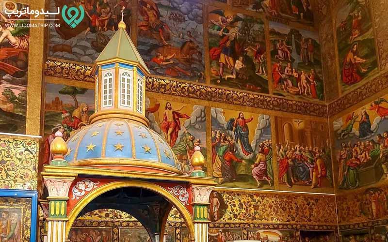 کلیسای تاریخی وانک اصفهان کجاست