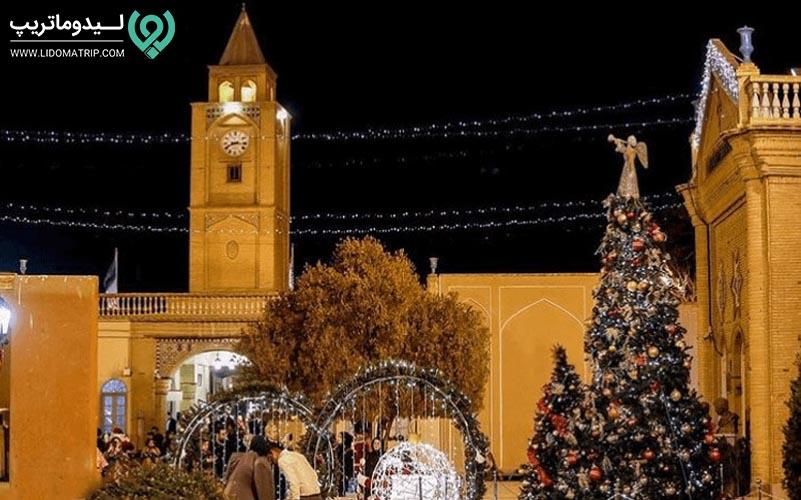 وانک کلیسای تاریخی و معروف اصفهان